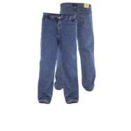 "(RJ510) KING SIZE STONEWASH BLUE ROCKFORD JEAN by DUKE (40"" - 60"")"