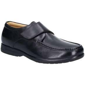 LARGE SIZES VELCRO SHOE BY FLEET & FOSTER- EXTRA WIDE/DUAL FIT