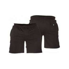 ELASTICATED WAIST BLACK JERSEY CARGO COTTON SHORTS By Duke - pack of 3