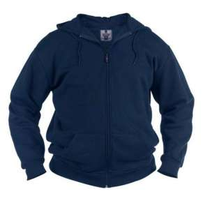 KS-1609 NAVY CANTOR HOODED SWEATSHIRT by DUKE (2XL -8XL) - pack of 3