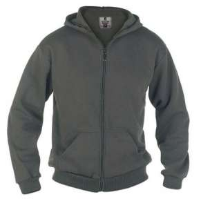 KS-1609 GREY CANTOR HOODED SWEATSHIRT by DUKE (2XL - 6XL) - pack of 3