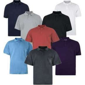 BASIC PLAIN POLO SHIRT By KAM