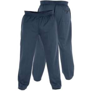 "(KS1418) KING-SIZE NAVY JOGGERS (2XL up to 8XL"") by DUKE - 3 pairs"
