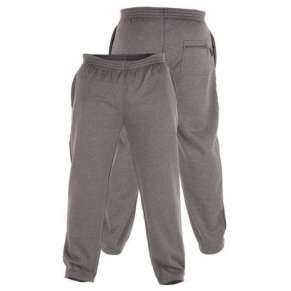"(KS1418) KING-SIZE GREY JOGGERS (2XL up to 8XL"") by DUKE - 3 pairs"