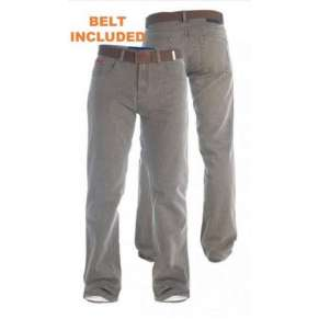 EXTRA TALL BEDFORD BROWN RIBBED JEANS By Duke - LEG LENGTH 38