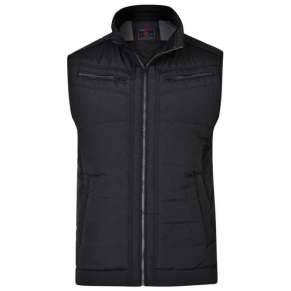 Quilted Biker Gilet by Kam