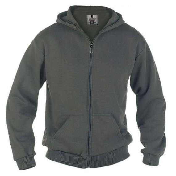 KS-1609 GREY CANTOR HOODED SWEATSHIRT by DUKE (2XL - 8XL) - pack of 3