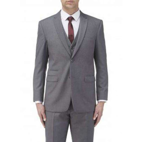 MADRID GREY SUIT By Skopes