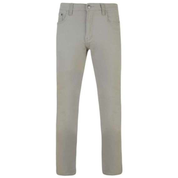 Extra Tall Stretch Chino Trousers by Kams - Leg Length 38""